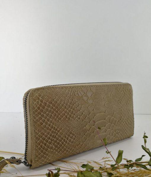 Promotii Piele Naturala - Portofel din piele naturala model Tessa 1